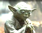 Picture of Yoda.